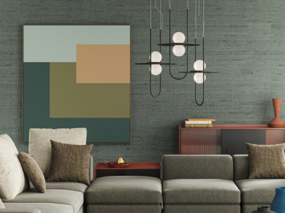 Solaire Suspension Lamp by Liu Jo Living