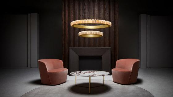 Avalon Halo chandelier von CTO Lighting