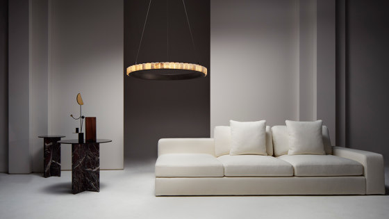 Avalon Halo chandelier by CTO Lighting