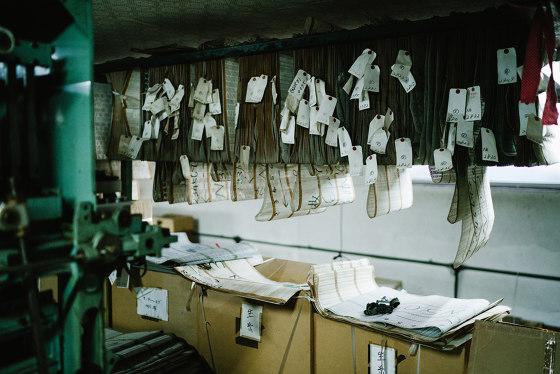 Morisan Dots jacquard fabric by Hiyoshiya