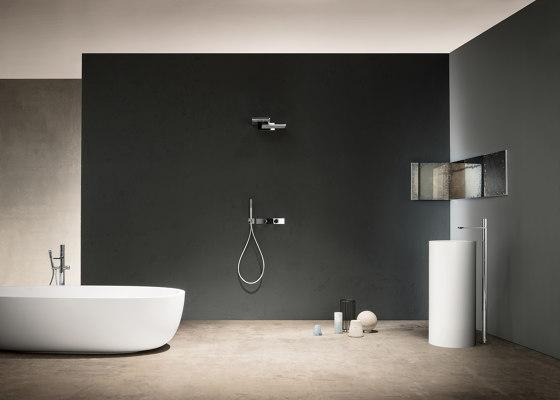 Milano | Deck-mount bathtub mixer by Fantini