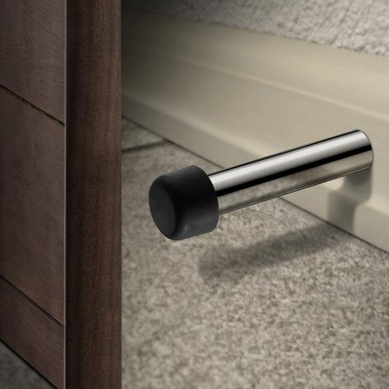 glass door handles & door stoppers | Double glass hook by SANCO