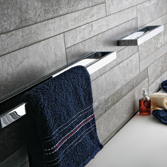 valanio | Double toilet roll holder with cover by SANCO