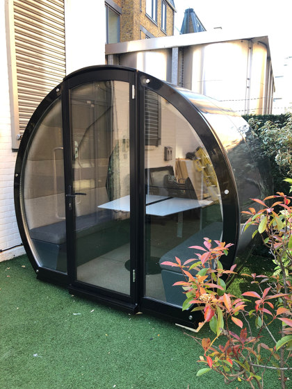 4 Person Open Outdoor Pod by The Meeting Pod