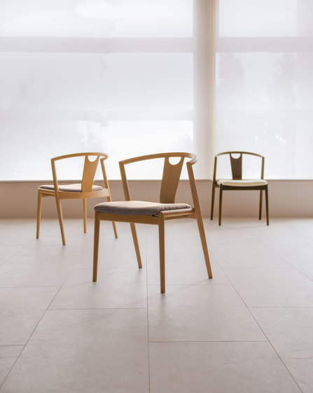 Mark stacking chair by Conde House