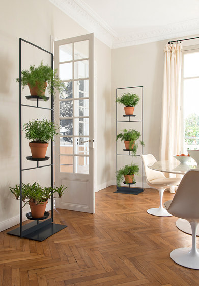 TEEpots Plant Stand Room Divider by Teebooks