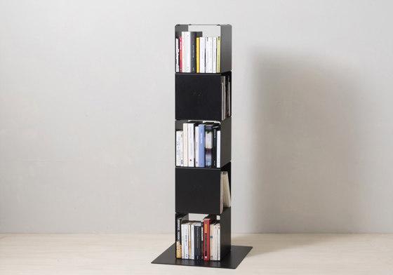 TEEtem 8 levels White Column storage by Teebooks