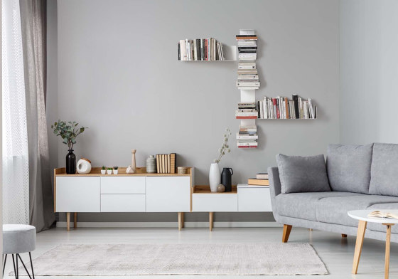 LINEAIRE Bookcase by Teebooks