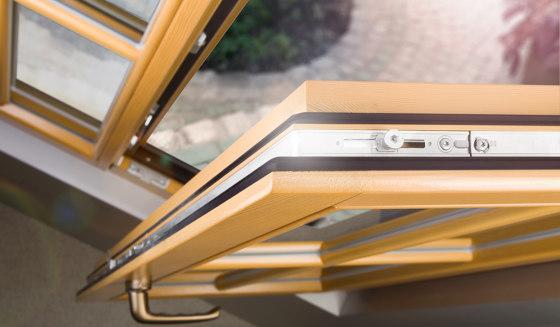 Wooden windows | Wooden Meister window rustic by Unilux