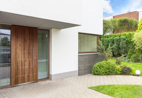 Wooden entry doors | ExclusivLine Model 2406 by Unilux