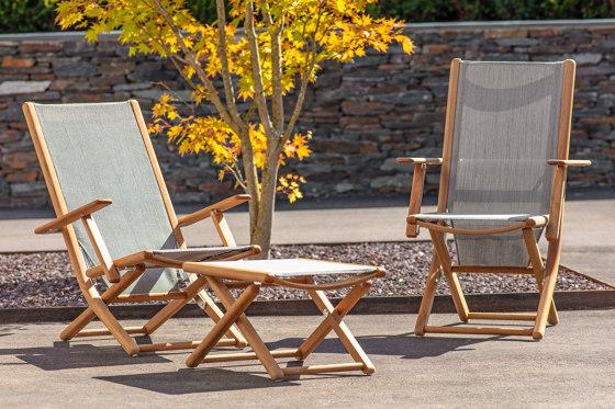 Tennis armchair adjustable di Fischer Möbel