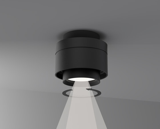 Adjustable recessed spot by Letroh
