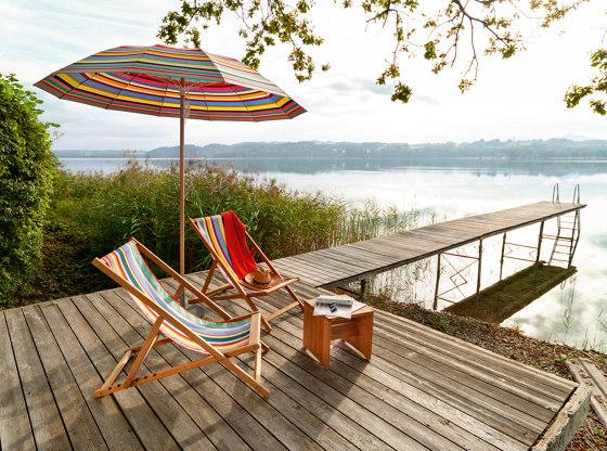 Cabin Basic Sun Lounger di Weishäupl