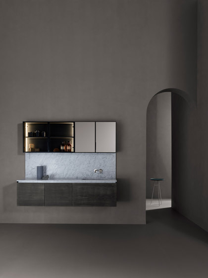 Strato Wall Mounted Towel Rack by Inbani