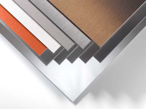 ALUCOBOND® naturAL Pure Brushed 400 by 3A Composites