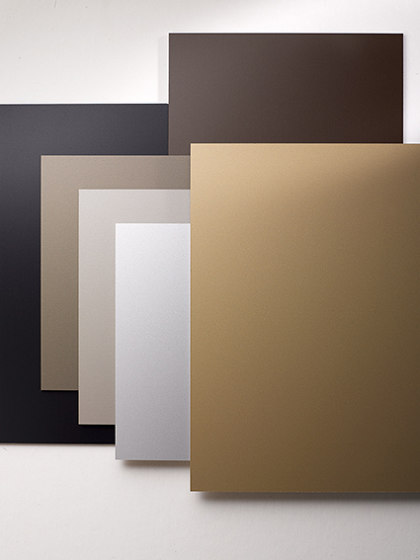 ALUCOBOND® anodized look Satin brown by 3A Composites
