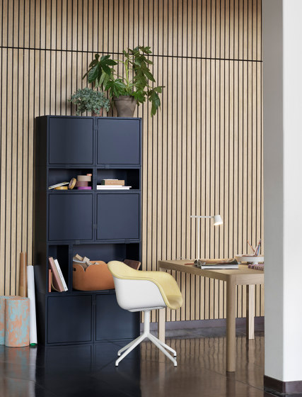 Stacked Storage System Acoustic Panel | Small by Muuto