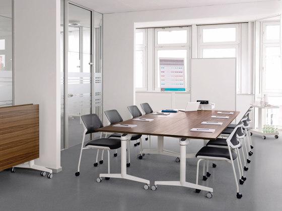 FlipTop Twin Table de Steelcase
