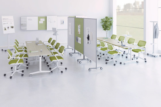 FlipTop Twin Table by Steelcase