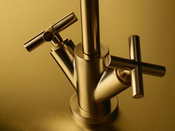 Tara. - Wall-mounted basin mixer by Dornbracht