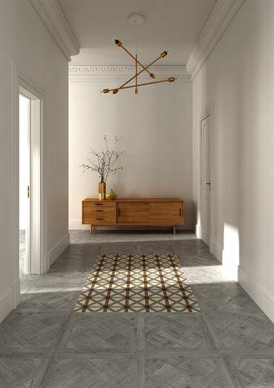 Intarsia Wooden Flooring by Devon&Devon