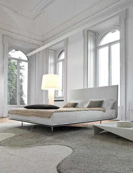 Thin single bed by Bonaldo