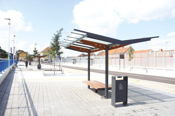 regio velo | Two-tier bicycle shelter by mmcité