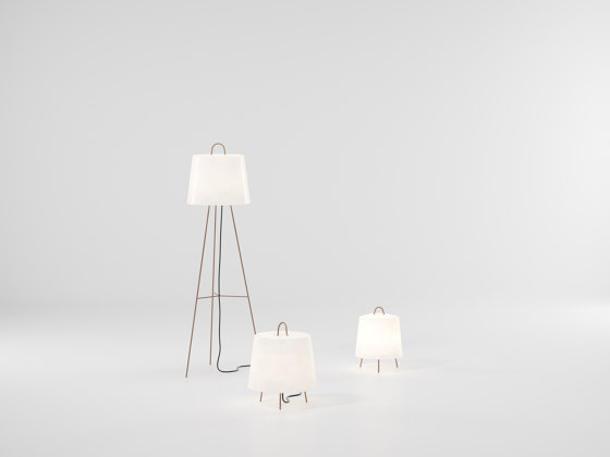 Objects fila floor lamp S by KETTAL