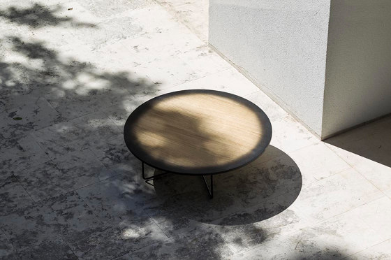 My Moon My Mirror Table by Diesel with Moroso
