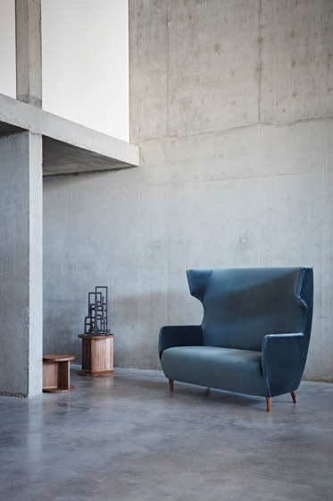 Hardy Wingback Chair by Dare Studio