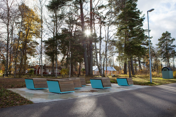 Code module bench by Vestre