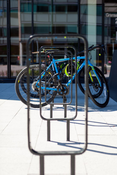 Forum bicycle rack by Vestre