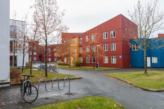 Sinus bicycle rack by Vestre