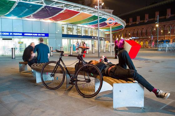 Via bench by Vestre
