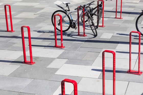 Vroom bicycle rack by Vestre