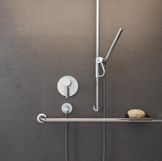 FSB ErgoSystem® E300 Shower rail with shower-head holder by FSB