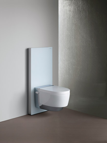 Monolith | sanitary module black / glass by Geberit