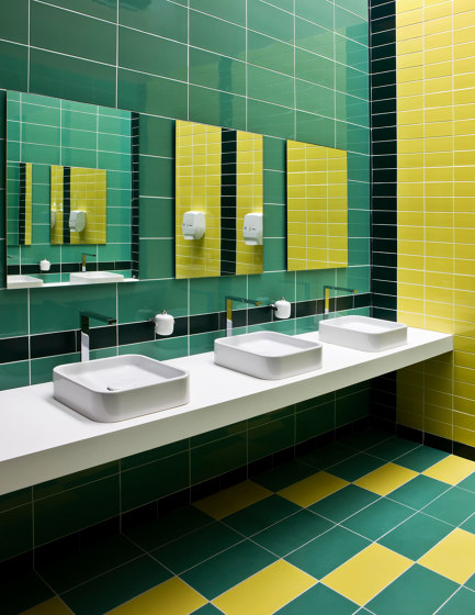 Interni Menta by Ceramica Vogue