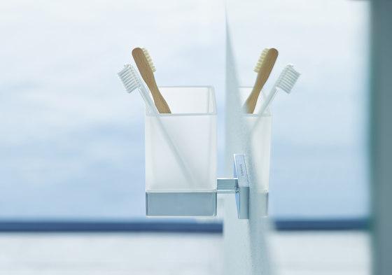 Karree - toothbrush tumbler by DURAVIT