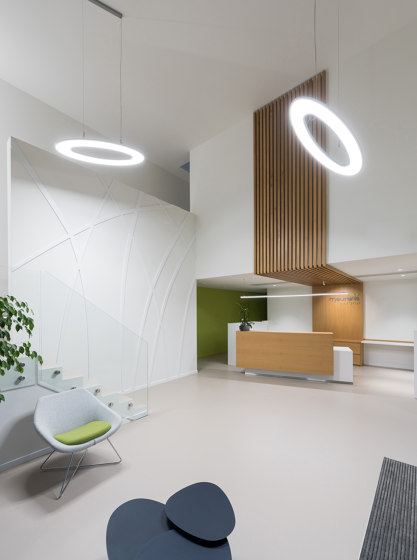 Sidelite® Round Ceiling and wall luminaires by RZB - Leuchten