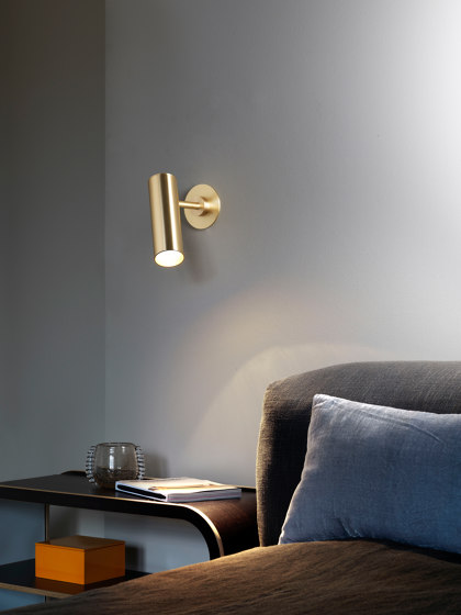 Heron table bronze by CTO Lighting