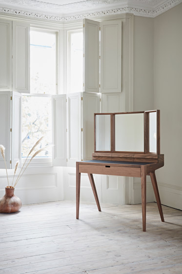 Kingston Dressing Table with Mirror by Dare Studio
