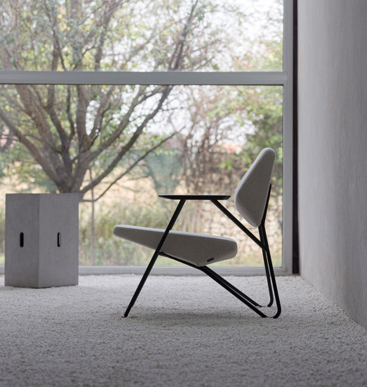 Polygon low table by Prostoria