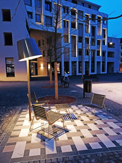 Living Room LED outdoor light by BURRI