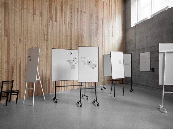 ONE Mobile Whiteboard double sided by Lintex