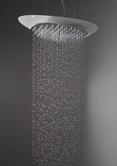 Cloud F2652 | Ceiling mounted stainless steel showerhead by Fima Carlo Frattini