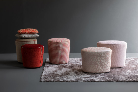 Easy Pouf round by Christine Kröncke