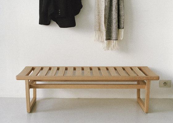 Oak Bench Large de Bautier