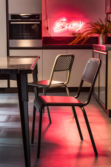 Nizza Chair by Diesel with Moroso