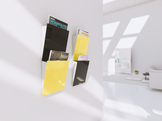 CHAT BOARD® Magazine Rack by CHAT BOARD®